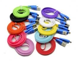 Уплотненный USB кабель для Samsung, Nokia, НТС фото