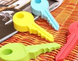 Стоппер дверной силиконовый Ключик фото, купить, цена