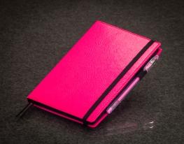 Блокнот с черной бумагой Малина стандарт фото