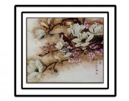 Набор для вышивки картины Весеннее настроение 59х56см фото