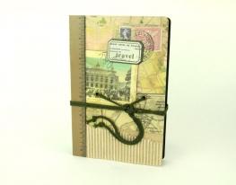 Винтажный блокнот Travel фото