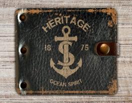 Зажим для денег Морской прибой фото
