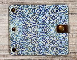 Зажим для денег Барокко Синий фото