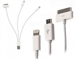 Универсальный USB кабель для зарядки 4в1 фото