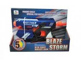 Бластер Hot Fire с 5 поролоновыми снарядами фото