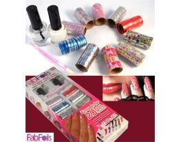 Украшения для ногтей Fab Foils фото