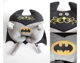Мягкая игрушка Кот Бетмен фото