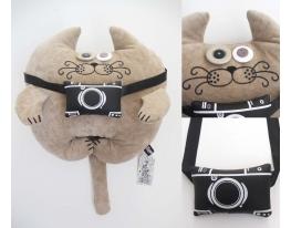 Мягкая игрушка Кот Фотограф Иннокентий фото
