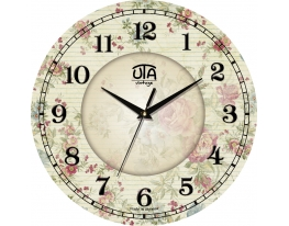 Часы настенные круглые Винтаж фото