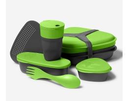 Набор посуды для ланча Eddie Bauer зеленый фото