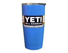 Чашка YETI Rambler Tumbler 20 OZ Синий фото