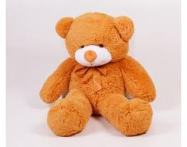 Плюшевый медведь Тедди 100 см Карамельный фото 2