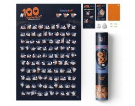 "Скретч постер ""100 BucketList KAMASUTRA edition"" фото"