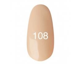 Гель - лак Kodi №108 Светло-абрикосовый, бледный 12мл фото