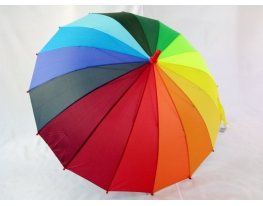Детский зонт - трость для Радуга полуавтомат фото