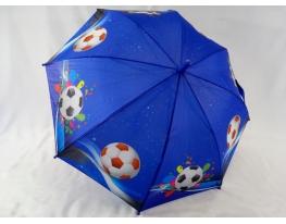 Детский зонт - трость для мальчиков Футбол фото