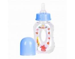 Бутылочка голубая Бублик 120 мл фото