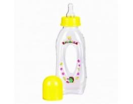 Бутылочка желтая Бублик 250 мл фото