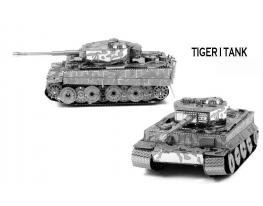 3D конструктор Танк Тигр фото