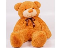 Плюшевый медведь Тедди 140 см Карамельный фото 2
