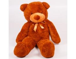 Плюшевый медведь Тедди 140 см Коричневый фото 2