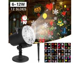 Лазерный проектор Star Shower Slide Show ZP1 12 слайдов + пульт фото