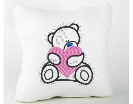 Подушка подарочная Тедди фото