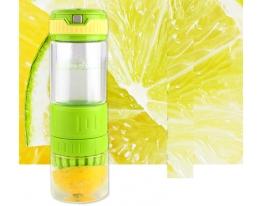 Бутылка для воды и напитков с соковыжималкой Citrus Zinger фото