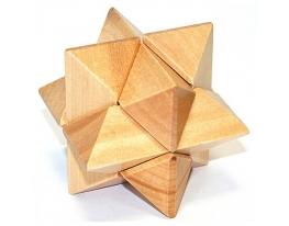 Деревянная головоломка Звезда фото