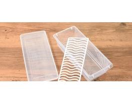 Контейнер с сеткой для хранения продуктов пластиковый фото
