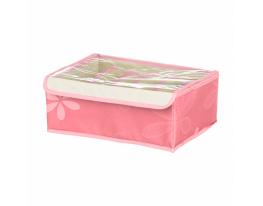Ящик-органайзер для хранения белья 7 секций Розовый фото 1