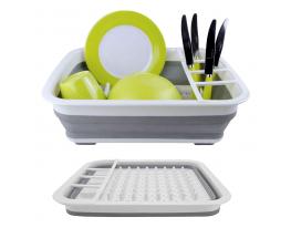 Складная универсальная сушилка для посуды и продуктов фото 1