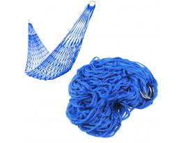 Гамак сетка Синий фото