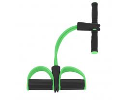Эспандер для мышц ног, рук и груди Салатовый фото
