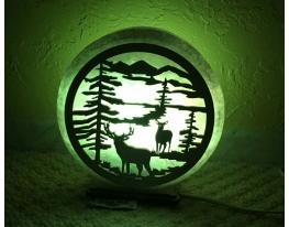 Соляная лампа Природа фото 1