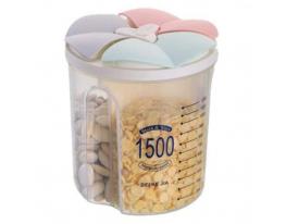 Контейнер пищевой для сыпучих продуктов 3отд 1.5л фото