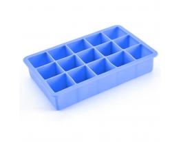 Форма для льда Кубик Голубая фото 1