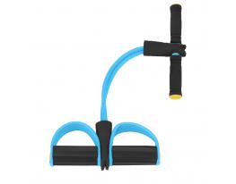 Эспандер для мышц ног, рук и груди Голубой фото 2