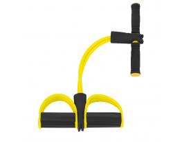 Эспандер для мышц ног, рук и груди Жёлтый фото