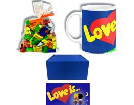 Подарочный набор Love is Синий фото