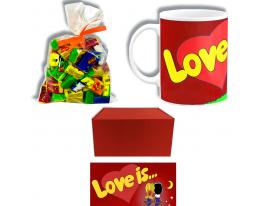 Подарочный набор Love is Красный фото