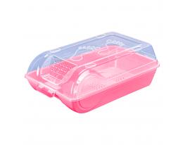 Контейнер для хранения обуви. Розовый фото 6