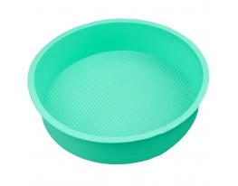 Форма силиконовая Круг диаметр 26 см Мятная фото 1