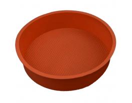 Форма силиконовая Круг диаметр 26 см Терракот фото 1