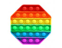 Игрушка антистресс вечная пупырка ПОП Ит шестиугольник фото 1