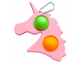 Игрушка антистресс Simple Dimple единорог розовый фото 2