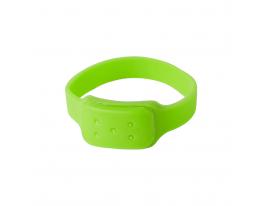 Силиконовый браслет от комаров MINI салатовый фото