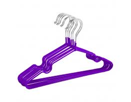 Набор детских металл. вешалок Фиолетовый (10 шт) фото 1