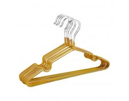 Набор детских металл. вешалок Золото(10 шт) фото 1