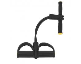 Эспандер для мышц ног, рук и груди Чёрный фото 1